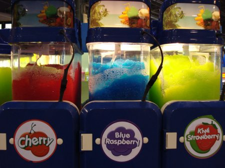 Day-glo squishy – to give the carny at the Tilt-A-Whirl something to remember you by when he cleans up after you.