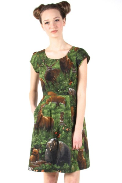 Birds-of-North-America-Macaw-Dress-Woods-241-2